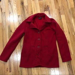 Women's large pea coat